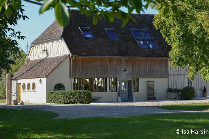 RUSTIQUE ET MODERNE TRES BELLE MAISON - Grisy-sur-Seine - Ev