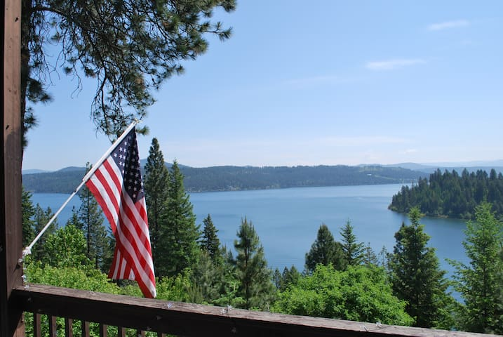 Lake Coeur d' Alene Cabin - Amazing Views! - Worley
