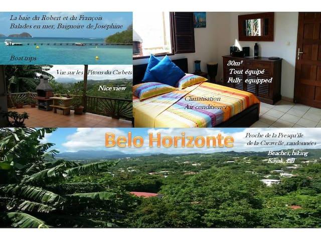 BELO HORIZONTE Fully Equipped Studio 30m² - Le Robert