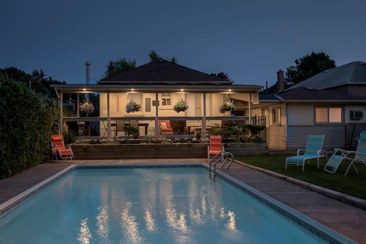 Cozy, Private Studio Flat 21 min to downtown by GO - Toronto - Casa de huéspedes
