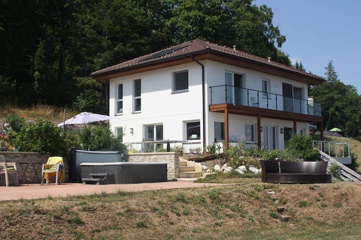NICE ROOMS WITH BREATHTAKING VIEW - Arzier-Le Muids - Casa