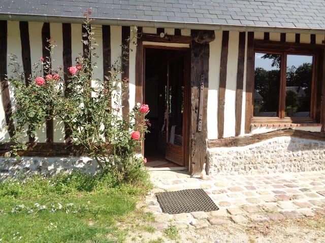 LA CIDRERIE, maison normande authentique. - Auzouville-Auberbosc - Ev