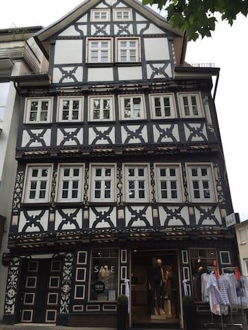 Wohnen im Baumeisterhaus - Bad Hersfeld - Кондоминиум