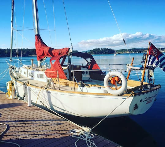 Sunsets on a yacht!   Row/Paddle/Sail  *Free Wine* - Lopez Island
