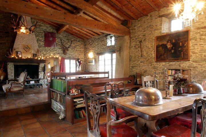 Huge charming private double  room - Saint-Couat-du-Razès