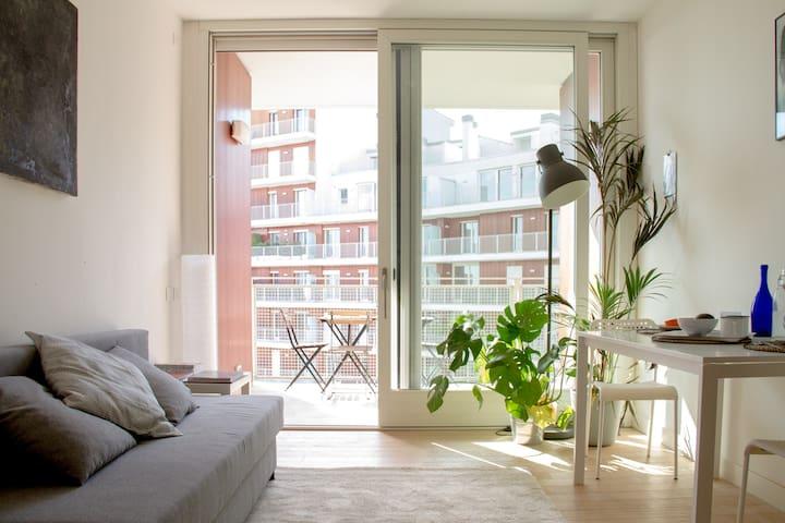 Luminoso bilocale  Linate/SRaffaele - Segrate - Apartamento