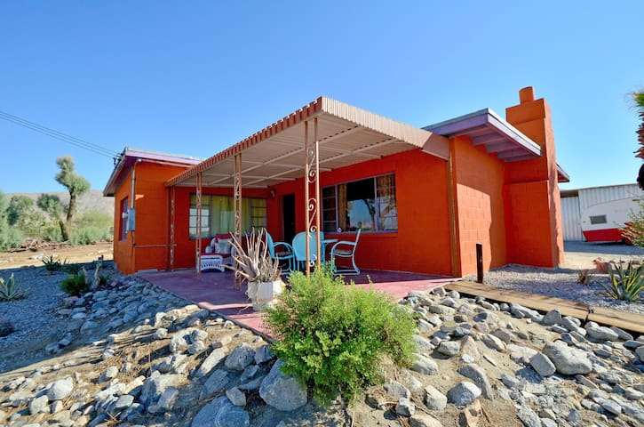 hot springs ranch retreat/$69up PET FRIENDLY - Sky Valley - Huis