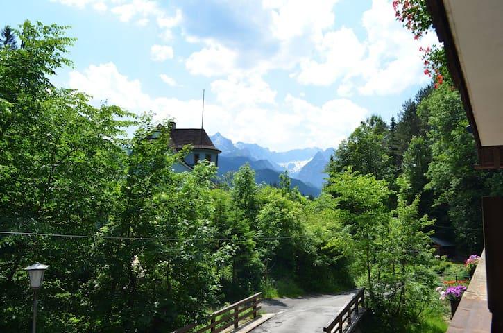Hütt´l am Bach - Appartement - Garmisch-Partenkirchen - Leilighet