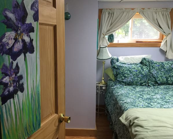 Boothbay, ME Queen/private entrance&bath,park free - Boothbay - Hus