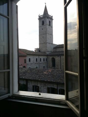 Casa con vista sul Duomo - ascoli piceno - Rumah