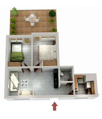 Nice apartment near the sea!!! - Perea - Apartmen
