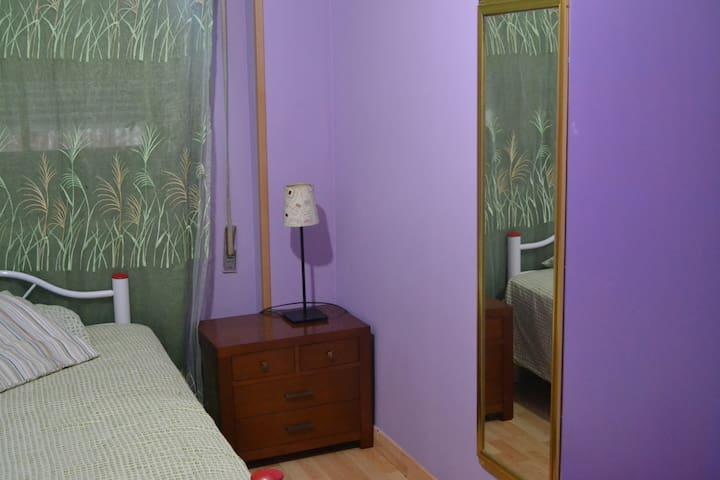 dos habitaciones con wifi - Parla - Daire
