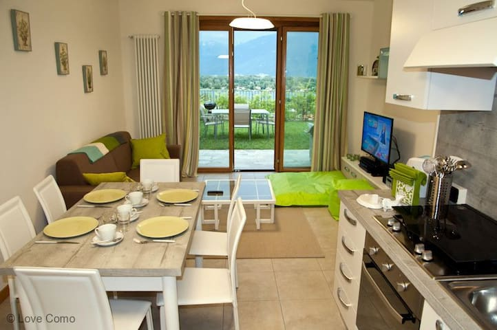 The Garden Flat perfect for families - Gera Lario  - Daire