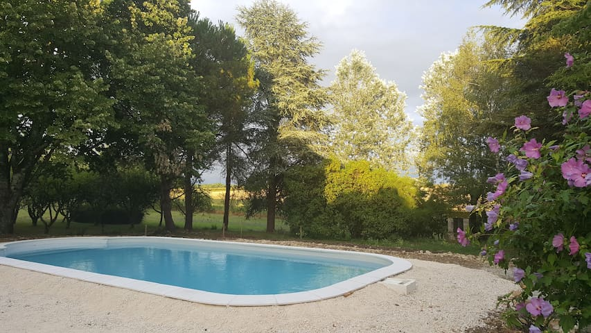 Family house in the Dordogne with swimming pool - La Tour-Blanche - Casa