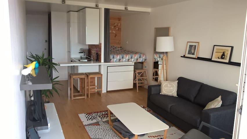 Appartement 31m² - Face mer, refait à neuf! Plage. - Saint-Jean-de-Monts