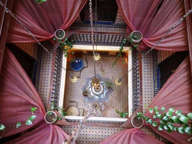 Riad el mess....Ambiance mille et une nuit - Essaouira - Inap sarapan