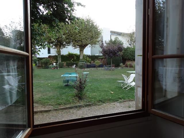 Chambre privée  sur jardin - Voiron - 公寓