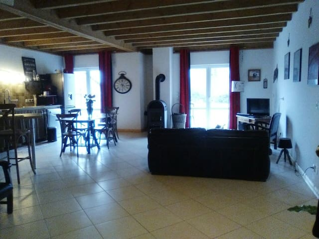 Les chambres de Val. - Grignon - Rumah