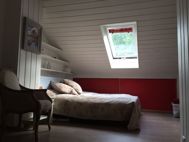 a countryside room for rent - Mensdorf - Huis