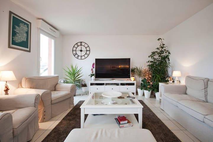 Chambre indépendante & confortable en centre ville - Évreux - Apartamento