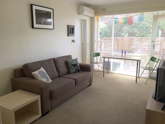 1BR Private, Sunny, Central - Caulfield South - Appartamento