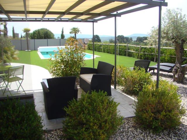 Appartement dans villa au cœur du pays Cathare. - Malviès - Leilighet
