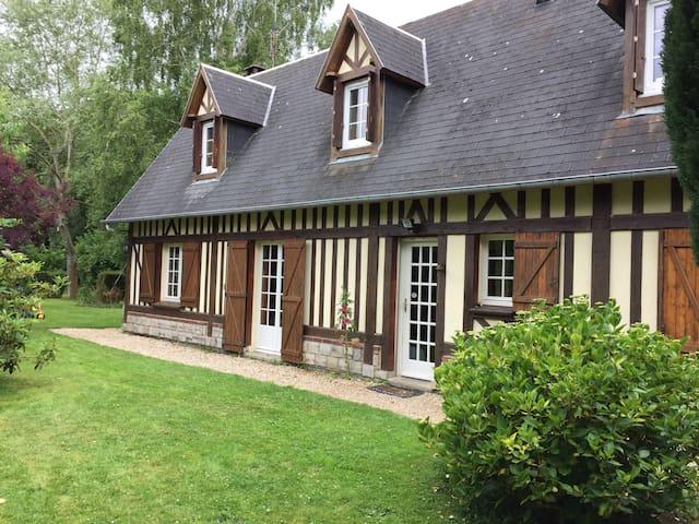 Una casa típica en Normandía - Hautot-l'Auvray - Casa