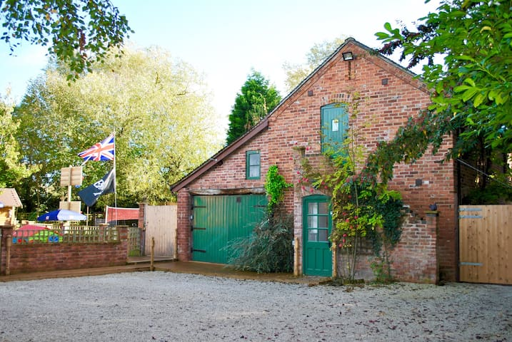 Beautiful secluded hi spec cottage - Milwich
