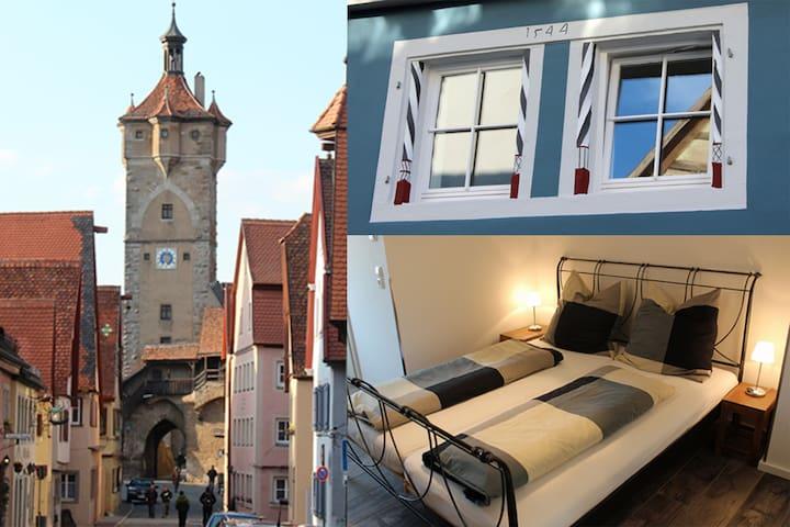 Modern apartment in the medieval center - Rothenburg ob der Tauber