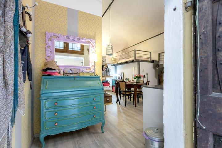 Cozy and warm studio in Tuscany - Prato - Loft