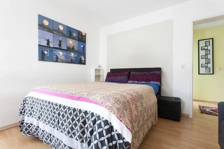 (free parking) charming guestroom in a 4 room flat - Mannheim - Bed & Breakfast