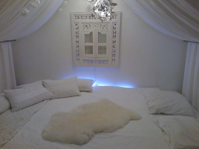 Quiet place with paradise bed - La Fare-les-Oliviers - Квартира