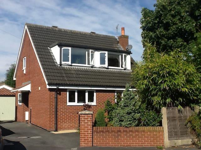 Delightful & modern detached house. - Croston - Rumah