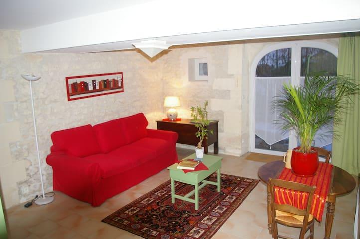 Studio avec charme - Dompierre-sur-Charente - Lägenhet