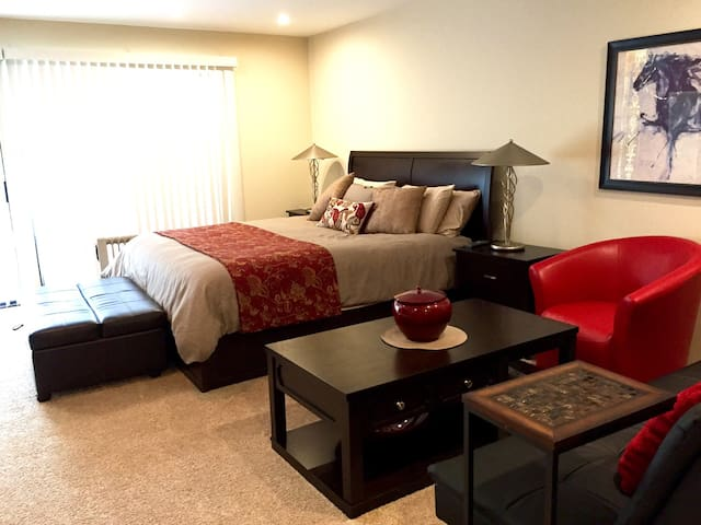Quiet luxury private studio - Foster City - Departamento