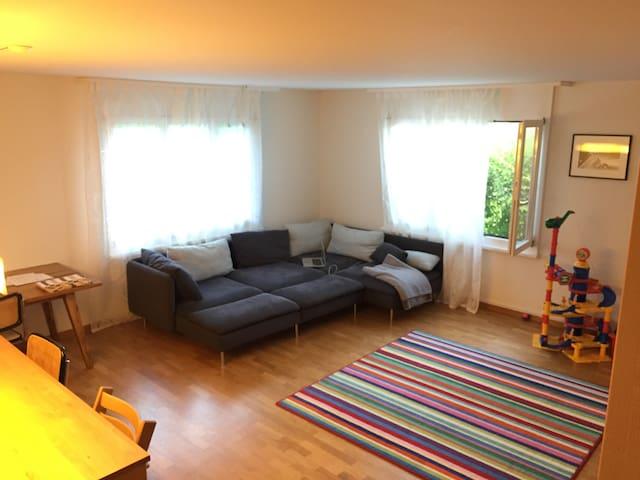 Schöne Gartenwohnung mit viel Platz - Berikon - Appartement