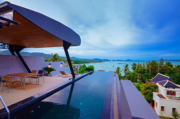 Holiday Private Sea view Pool villa -  Rawai - Vila