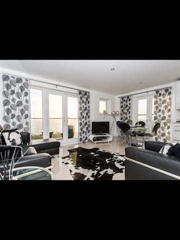 Luxury Seafront Apartment with Breathtaking Views - Llanelli - 公寓