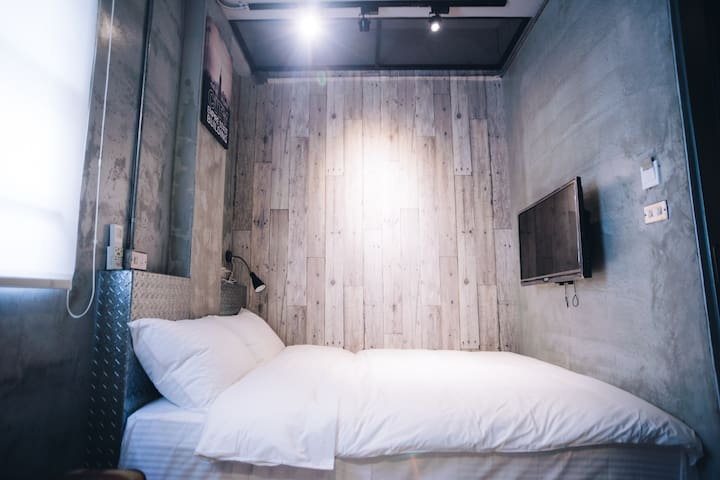 有窩客棧。近車站 @301 獨立衛浴 精緻雙人房 - Hualien City - Gjestehus