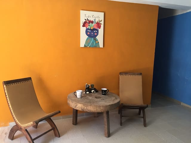Apartment Los Gatitos (2 floor apt wA/C & WiFi) - Mérida - Leilighet