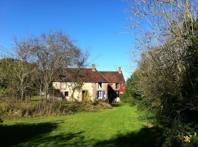 Maison dans petit hameau trés calme - Villiers-Saint-Benoît - Haus