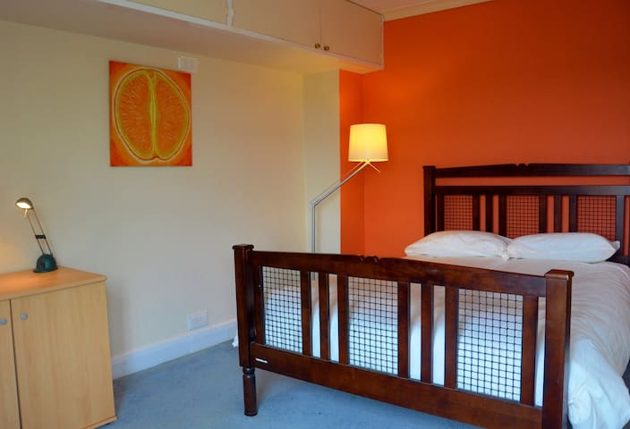 Double room in musical house in handy location - Godalming - Ev