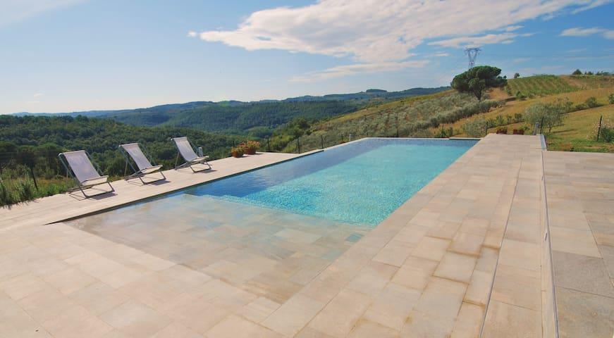 Villa con piscina privata vicino FI - Florencia - Villa