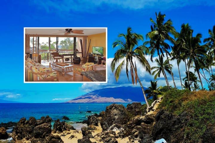 1 BR Tiki-Style Condo at Maui Vista steps to beach - Kihei