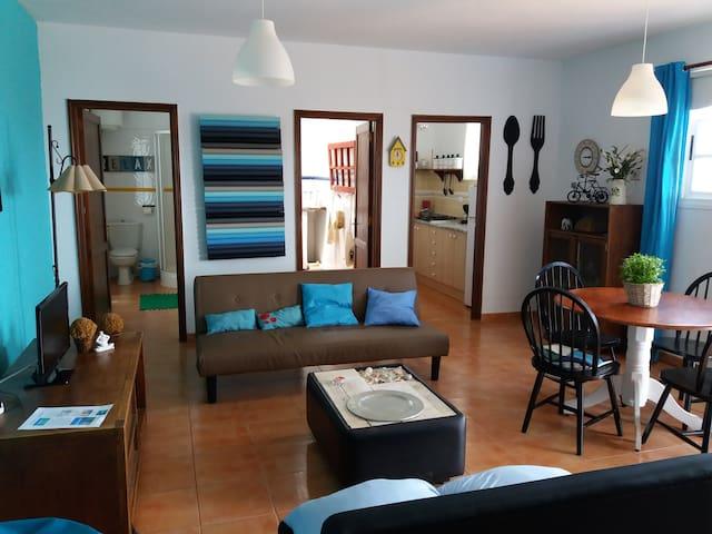 Comfoetable apartament with a great views to pool - Puerto del Rosario - Apartemen