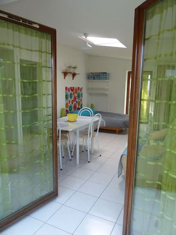 Studio,terrasse,accès privé plage - La Turballe - Apto. en complejo residencial