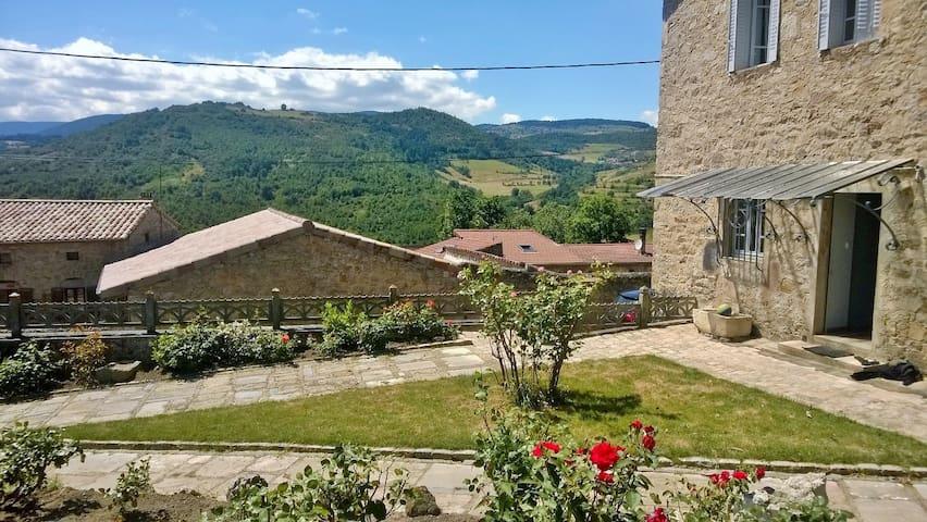 Gîte Ardèche Verte 8/9 personnes - Annonay - Casa