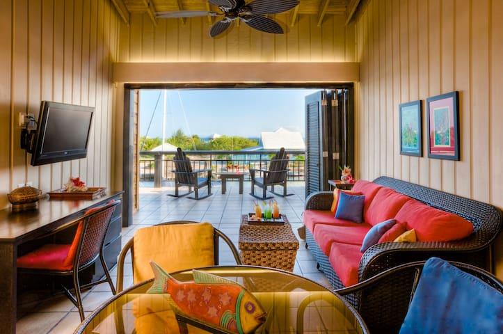 Oceanview Two-Bedroom Loft at Barefoot Cay - Brick Bay - Loft-asunto