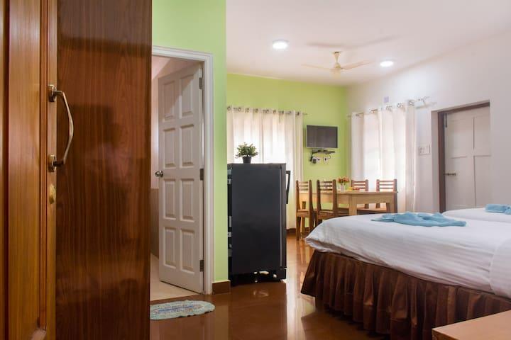 6 - Holy Cross Home Stay's -  1BHK Apartment - Santa Cruz