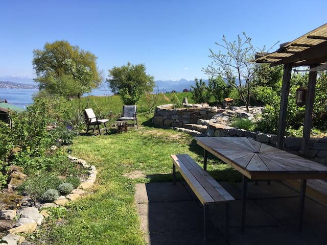 Apartment with great lakeview near Zurich - Au ZH - Apartamento